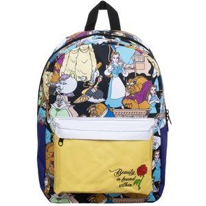 Disney Beauty & the Beast Print Backpack